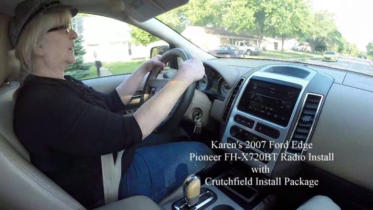 small resolution of 2007 ford edge step by step radio replacement