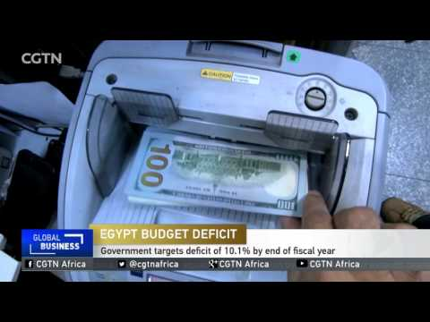 Egypt: Government targets deficit of 10.1% by end of fiscal year