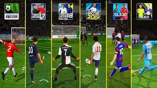 DLS Classic to DLS 21 - Realistic Free kick and Penalty   Dream League Soccer Evolution screenshot 5