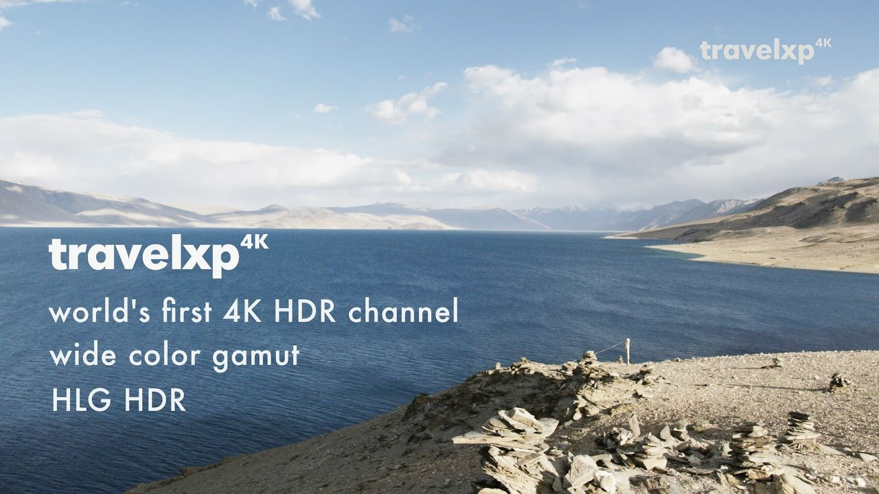 Travelxp 4K Europe - world's first 4K HDR Channel