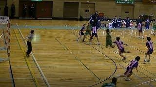 20191222福岡県高校新人ハンドボール女子決勝 西南学院vs明光学園(後半)