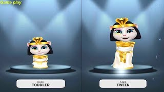 My Talking Angela Baby VS Kid SIZE Gameplay make for kid