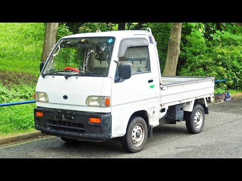 1992 Subaru Sambar Supercharged 4WD (USA Import) Japan Auction Purchase Review