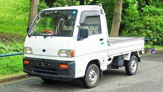 1992 Subaru Sambar Supercharged 4WD (USA Import) Japan Auction Purchase Review