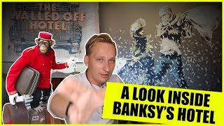 Banksy Has A Hotel And You Won't Believe What's Inside!