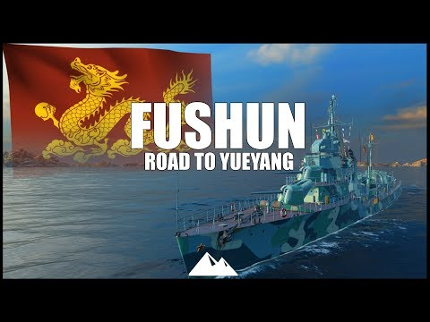 FUSHUN, Gnewny Klasse im Dienst! - World of Warships | [Road to...] [Deutsch] [60fps]