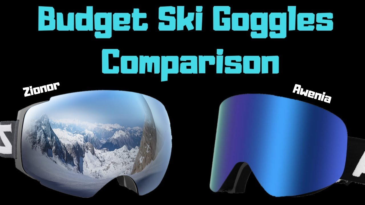 506384169723 THE BEST BUDGET SKI GOGGLES - YouTube