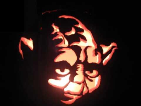 Yoda pumpkin 2011 youtube
