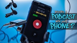 Record a Podcast with your Phone (Rode Mobile Interview Kit)