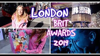 Vlog - LONDON a BRIT AWARDS 2019  /LEA