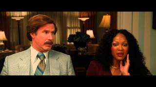 Anchorman 2 Ron has dinner with girlfriends family