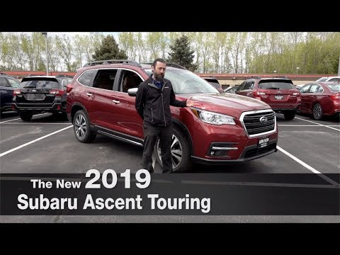 All-New 2019 Subaru Ascent Touring | Minneapolis | Burnsville | Bloomington | Minnetonka | MN