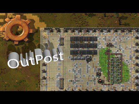 """Factorio multiplayer - E58 """"Outpost"""" - playthrough"""