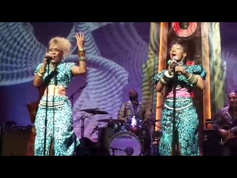 Les Nubians live at the Apollo in Harlem, New York - December 5, 2015