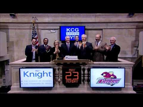 23 May 2011 Knight Capital Group rings the NYSE Closing Bell