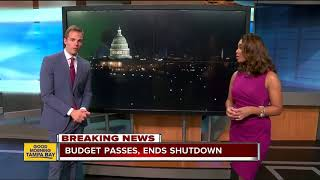 House passes bill to reopen government after second government shutdown in 2018