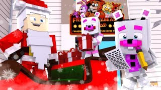 Funtime Freddy Plays Santa Says ?! | Minecraft FNAF Roleplay
