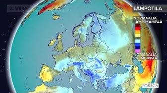 Kuukausiennuste lämpötiloista 24.10.2017: Sää on aluksi kylmää, marraskuun alkupuolella lauhtuu