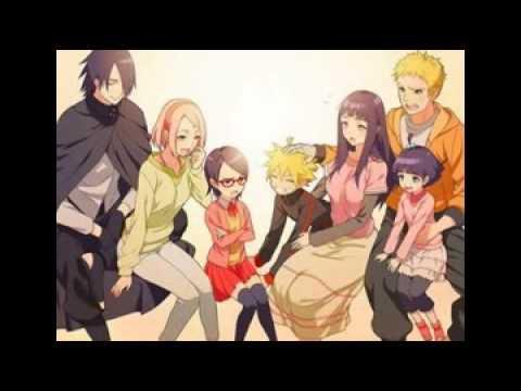 ฮินาตะ นารูโตะเเละลูกๆ