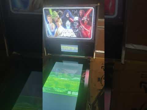 Arcade1up Star Wars Pinball - Boba Fett Gameplay from King Midas