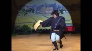 股旅舞踊「次郎長笠」