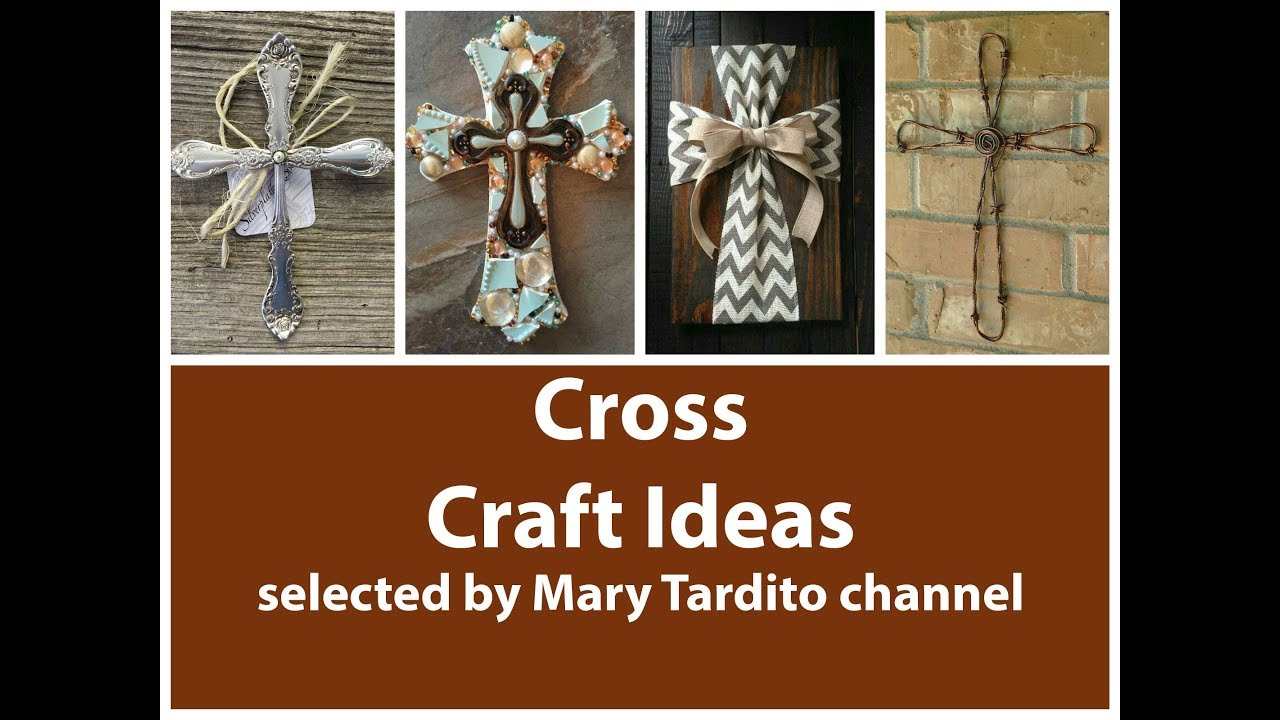 Cross Crafts Ideas Crafts To Make And Sell Religious Decor Ideas