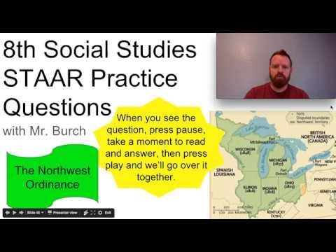 8th History STAAR (16.16): Northwest Ordinance