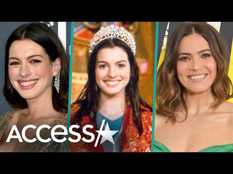 Anne Hathaway & Mandy Moore Celebrate 'The Princess Diaries' 20th Anniversary