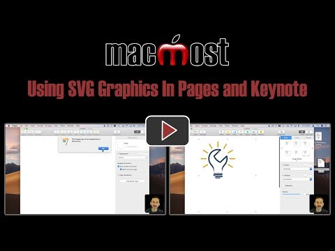 Using SVG Graphics In Pages and Keynote