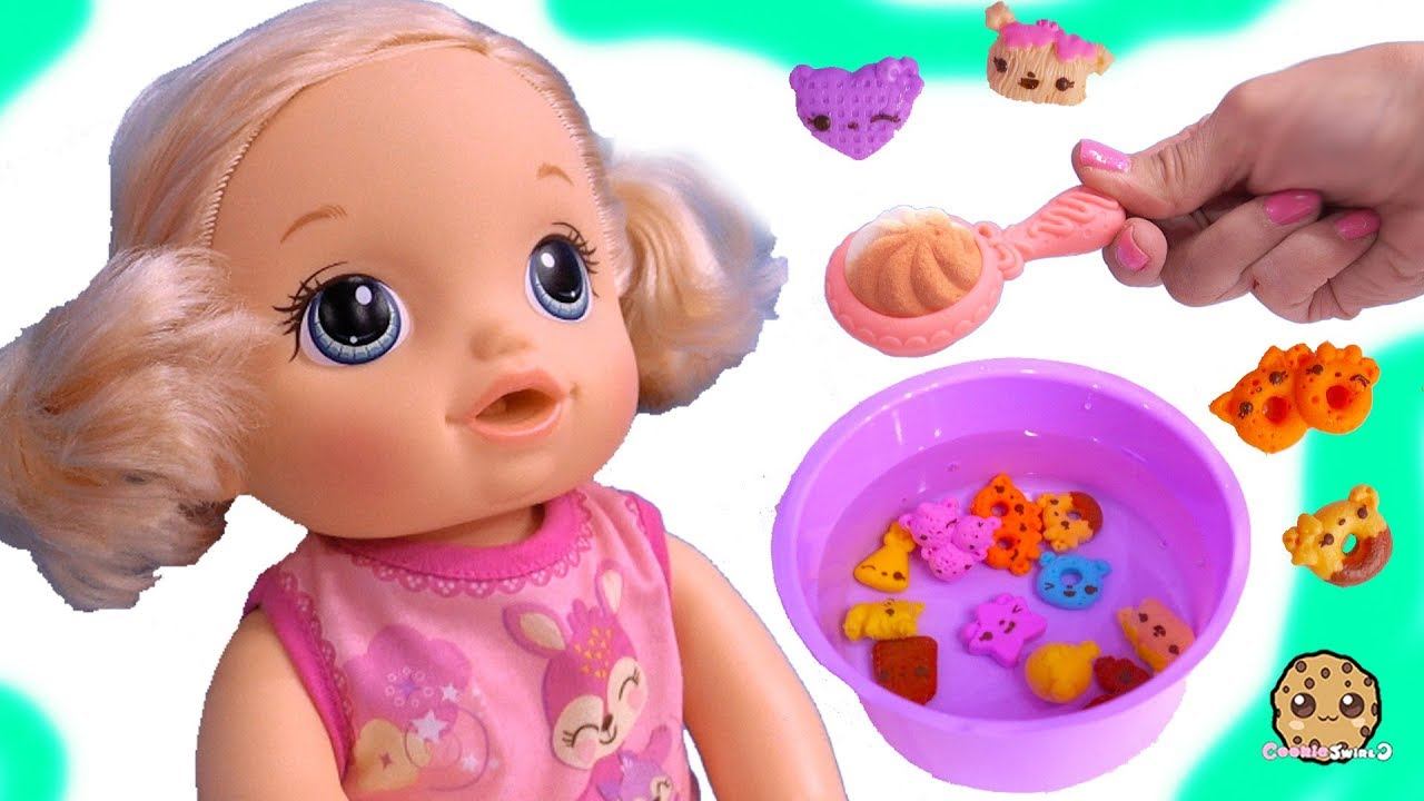 Feeding Baby Alive Num Noms Magic Cereal Surprise Blind