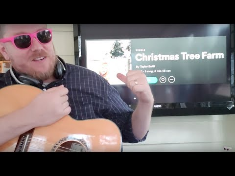 How To Play Christmas Tree Farm Taylor Swift Guitar Lesson Beginner Tutorial Easy Chords Youtube