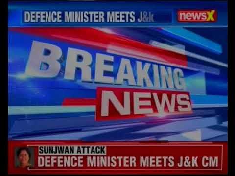 Jammu and Kashmir: Defence Minister Nirmala Sitharaman meets J&K Chief Minister Mehbooba Mufti