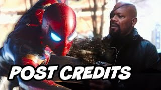 Avengers 4 Spider-Man Far From Home Post Credit Scene Theory