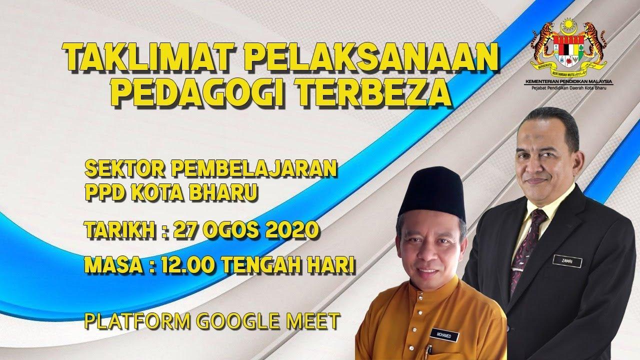 Taklimat Pelaksanaan Pedagogi Terbeza Ppd Kota Bharu 2020 Siri 2 Youtube