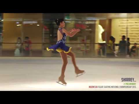 Sharrey Suhendra -- 18-19 April 2015 -- Indonesia Figure Skating National Championship