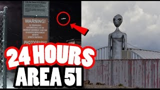 One of Kazzy Official's most viewed videos: (MILITARY) 24 HOUR CHALLENGE IN AREA 51! SNEAKING INTO AREA 51, THE TOP SECRET MILITARY BASE!