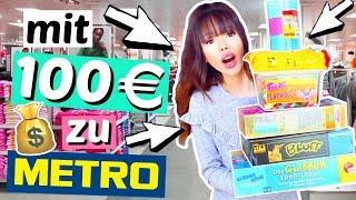 Was bekommt man mit 100€ bei METRO? 💰| ViktoriaSarina