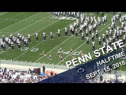 Penn State Blue Band Halftime show  Sept 15, 2018