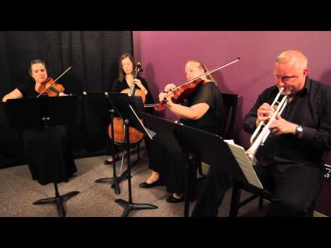 Ashokan Farewell (Ungar) for Quartet (Trumpet, Violin, Viola, Cello)