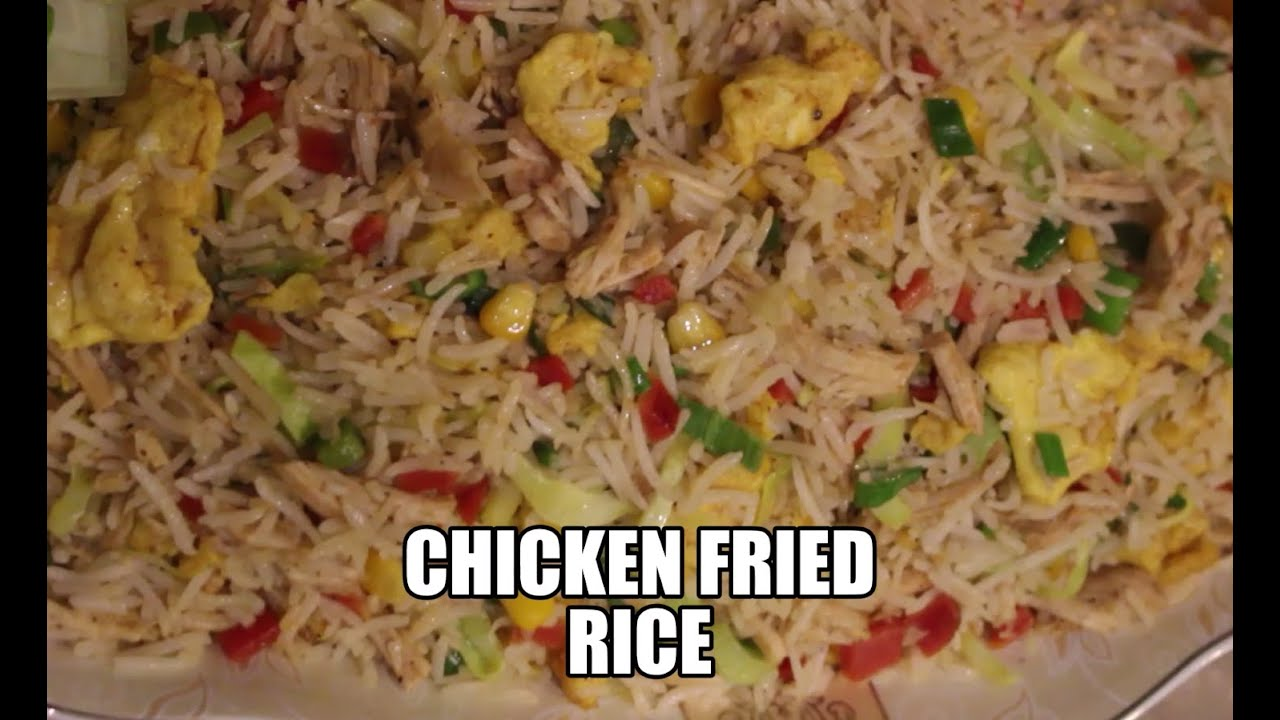 Chicken Fried Rice / Egg Fried Rice / Vegetable Fried Rice / Cooking with Urooj's Kitchen