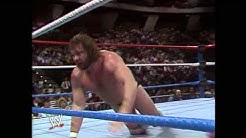 """Hacksaw"" Jim Duggan wins the first Royal Rumble"
