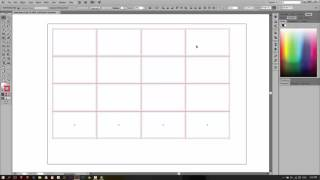 Tutorial Illustrator: Multiple Name Card Print Layout