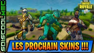THE FUTUR PROCHAIN SKINS-PIOCHE-PLANEUR-ÉMOTTE! FORTNITE BATTLE ROYAL! NEWS!