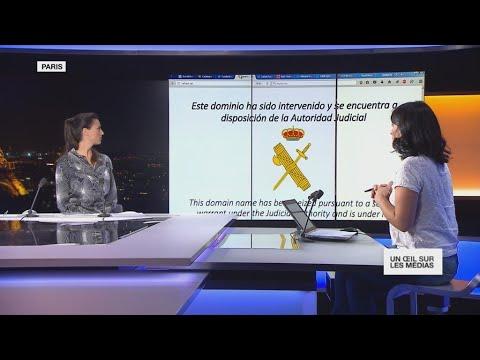 Le bras de fer entre Madrid et la Catalogne fait réagir la toile