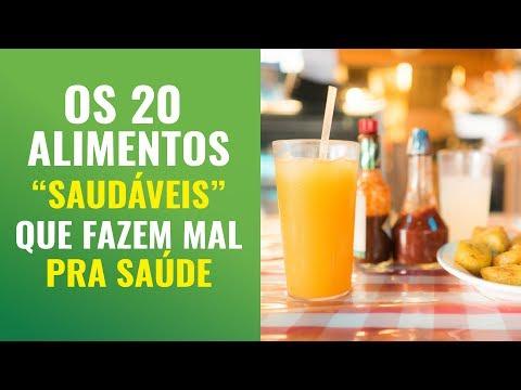 """OS 20 ALIMENTOS """"SAUDÁVEIS"""" QUE FAZEM MAL PARA A SAÚDE"""