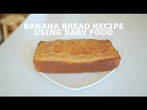 Banana bread recipe using baby food banana bread youtube banana bread recipe using baby food banana bread forumfinder Choice Image