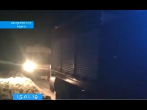 ТРК ВіККА: На Черкащині в переметі застрягла «швидка»