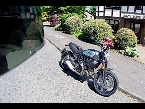 Ducati Scrambler Street Classic - Short Test Ride - 6th June 2018