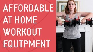 Affordable At Home Workout Equipment: Create a Home Gym on a Budget