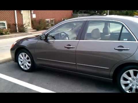 My New Car 2006 Honda Accord Exl V6 Walk Around